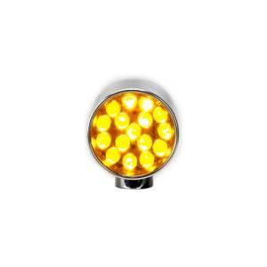 Lazer Star Billet Lights - Amber Rigid Mount Polished LSK6101A-R XS - Image 2