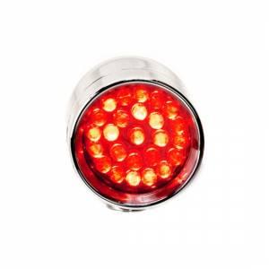 Lazer Star Billet Lights - Red Rigid Mount Polished LSK3101R-R Micro-B - Image 3