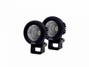 LX LED Driving Lights - Universal LX LED Lights - LX LED  - 2-1/2 Inch Pair of Enterprise 10 Watt Flood 1 LED 2001029