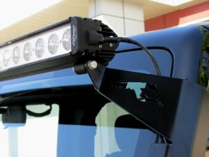 LX LED  - 50 Inch Atlantis 3 Watt Combi Jeep Kit 5591348 A-Pillar High Light Bracket - Image 2