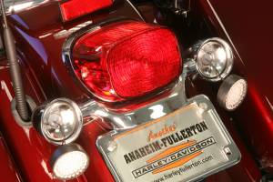 Lazer Star Billet Lights - Red Full Face LED Retro Fit LEDSK53-156R - Image 2