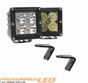 PreRunner LED - PreRunner LED 5 Watt Cube - PreRunner - 4 Inch PreRunner 5 Watt Cube Jeep Kit Spot 4 LED 55772504