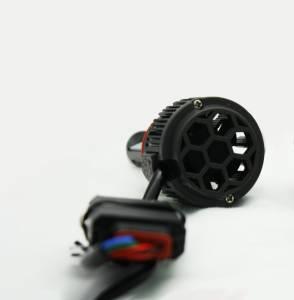 LX LED  - LX LED 40 Watt H4 / 9003 Base High-Low Upgrade Capsule Single 5751440 - Image 3