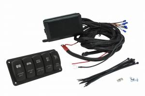 Featured - Jeep/UTV Wire Controller Kits - Universal Controller w/ 5-Switch Rocker Panel Kit 555926