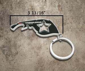 Lazer Star Lights Koozie + Keychain Bottle Opener Kit - Image 2