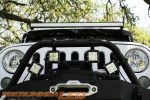 Dominator LED - Dominator Cube Cover Pair - Amber - Image 4