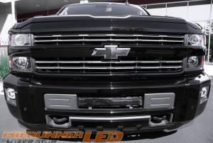 Dominator LED - Dominator Single Row Light Bar Cover - Long Segment - Amber - Image 6