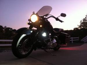 LX LED  - 10 Watt Triad Enterprise Motorcycle LED Light Kit - Image 2