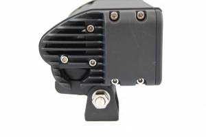 """LX LED  - 3-Watt 2x2 A-Pillar Light UTV Kit with 1.50"""" Clamps - Wire Kit Included - Image 5"""