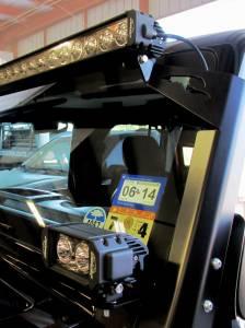 LX LED  - 3 Watt Hi-Lo Jeep Bracket Kit 55913489 - Image 2