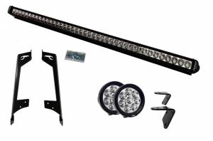 LED Jeep Lighting Kits - Lower A-Pillar LED Kits - LX LED  - 3 Watt Hi-Lo Jeep Bracket Kit 55913489