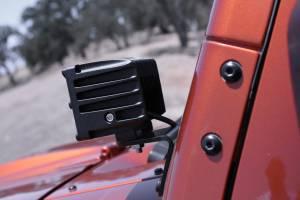 Dominator LED - 4 Inch Dominator 5 Watt Cube Jeep Kit Spot 4 LED 55772504 - Image 9