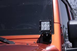 Dominator LED - 4 Inch Dominator 5 Watt Cube Jeep Kit Spot 4 LED 55772504 - Image 7