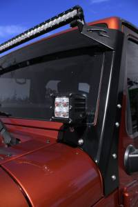 Dominator LED - 4 Inch Dominator 5 Watt Cube Jeep Kit Spot 4 LED 55772504 - Image 10