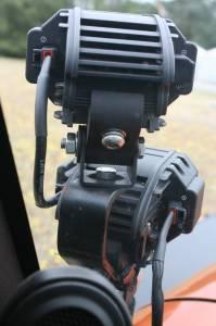 LX LED  - LX LED Double Stacker Bracket 592300 Black Powdercoat Finish - Image 6