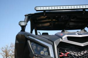 LX LED  - Can-Am X3 Roof Bracket with 1-7/8 Inch Tube Clamps - Image 6