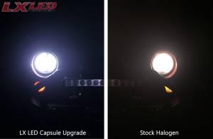 LX LED  - LX LED 40 Watt 9004 Base High-Low Upgrade Capsule Pair 5750430 - Image 7