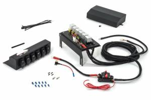 Covers, Wire Kits, Mounting Solutions & More - Wire Controller Kits - Jeep JK Wire Controller w/ 6-Switch Rocker Panel in Enclosed Housing Kit 555925