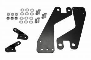 Covers, Wire Kits, Mounting Solutions, & More - Brackets - Dodge Ram 2500 HD Lower Bumper Bracket 576306