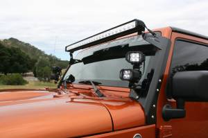 LX LED  - Pair 4 Inch Endeavour 3 Watt Flood 4 LED 2304029 - Image 6