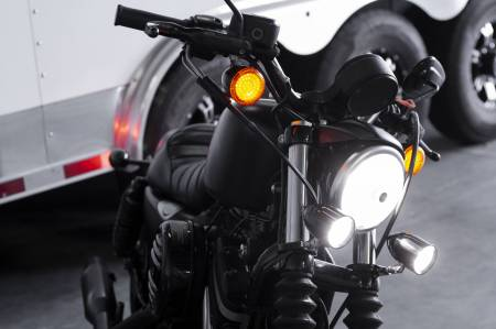 Applications - V-Twin / Motorcycle Lighting - NEW! Lazer Star® Billet Bullet/Shorty LED Driving Lights