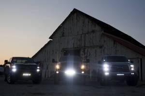 Chevy 2500 HD Bumper Dominator LED 4-Cube Bracket 576302 - Image 5