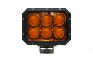 LX LED Lights - NEW! LXh 20-30 Watt Utility LED - LX LED  - 20 Watt 2x3 40° Amber Lens Flood LXh LED