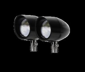 Halogen Lights - Vizor Driving & Signal Lights - Vizor - 50 Watt Pivot Mount Black V8250 Large Vizor