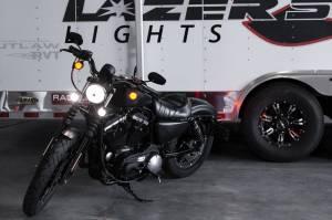 Lazer Star Billet Lights - CoolLED Bullet Driving Light - Spot Beam Black Finish LSK120301 - Image 6