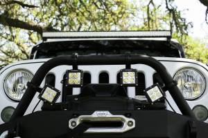 Dominator LED - Amber 4 Inch Dominator 3 Watt Single Row Flood 3 LED 7713040204 - Image 15