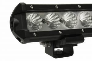Dominator LED - Amber 4 Inch Dominator 3 Watt Single Row Flood 3 LED 7713040204 - Image 5