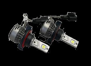LX LED  - LX LED 40 Watt H13 Base High-Low Upgrade Capsule Pair 5771340 - Image 1