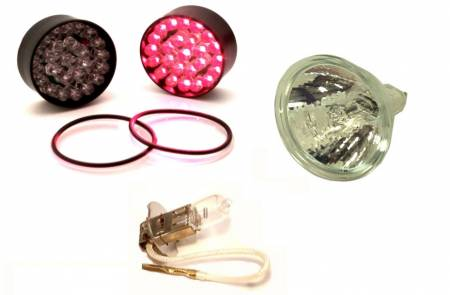 Covers, Wire Kits, Mounting Solutions & More - Spare / Replacement Parts - Halogen Lamps