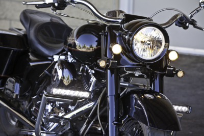 Applications - V-Twin / Motorcycle Lighting - LX LED Driving Lights