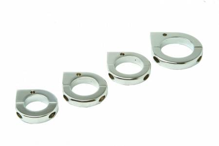 Mounting Solutions - Lazer Star® / Vizor Billet Tube Mounts - Tube Clamps